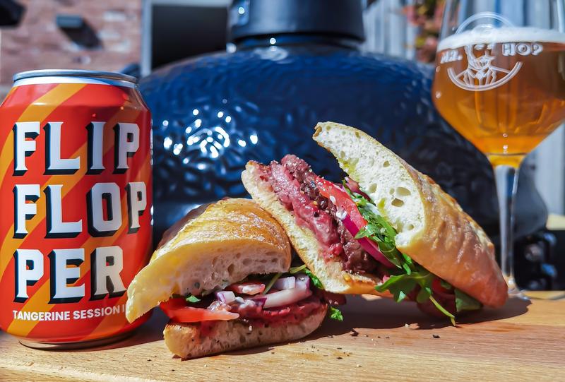 Steak Sandwich met FlipFlopper